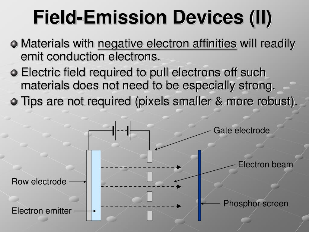 Field-Emission Devices (II)
