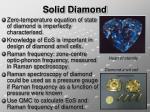 solid diamond