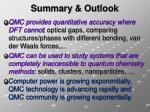summary outlook