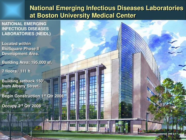 National Emerging Infectious Diseases Laboratories