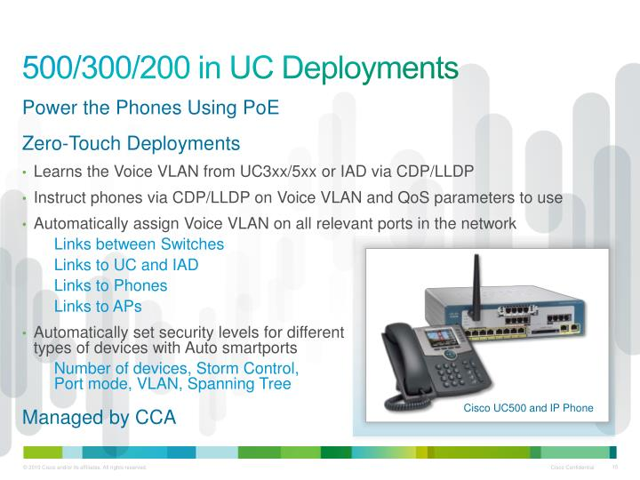 500/300/200 in UC Deployments