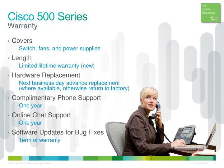Cisco 500 Series