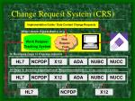 change request system crs
