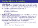 pre admission screening27