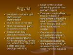 argyria