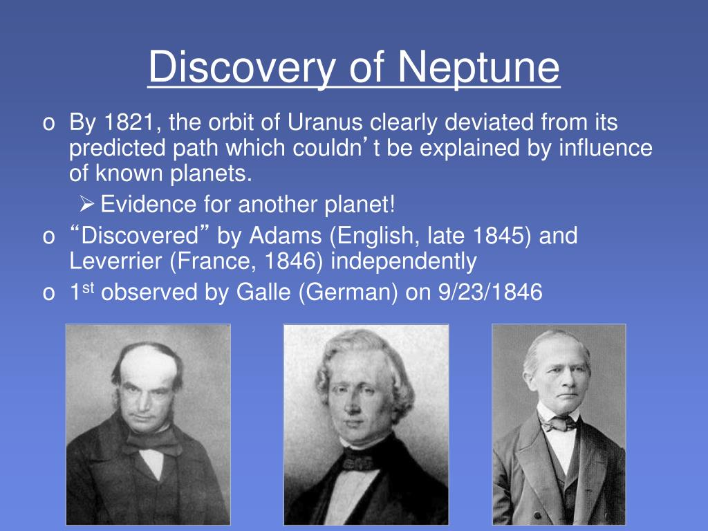 Discovery of Neptune