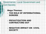 governance local government and civil society