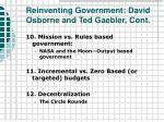 reinventing government david osborne and ted gaebler cont22