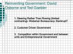 reinventing government david osborne and ted gaebler