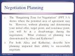 negotiation planning