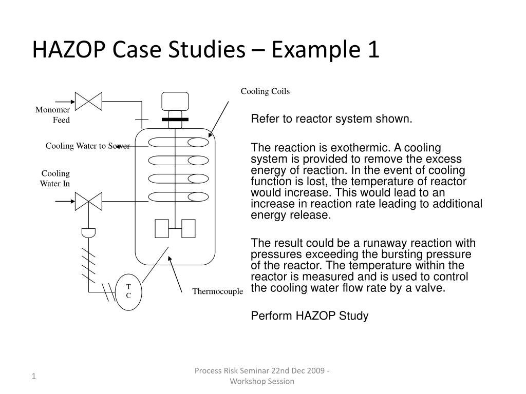 hazop case studies example 1 l.