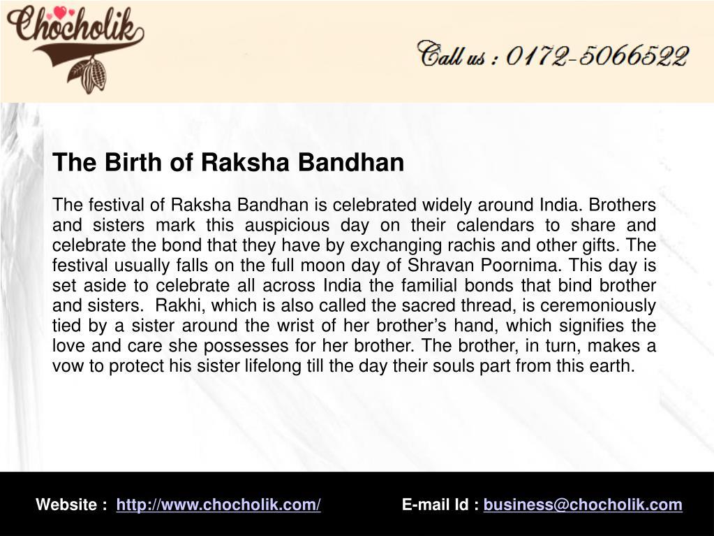 The Birth of Raksha Bandhan