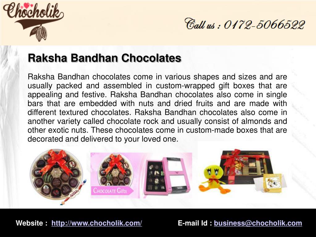 Raksha Bandhan Chocolates