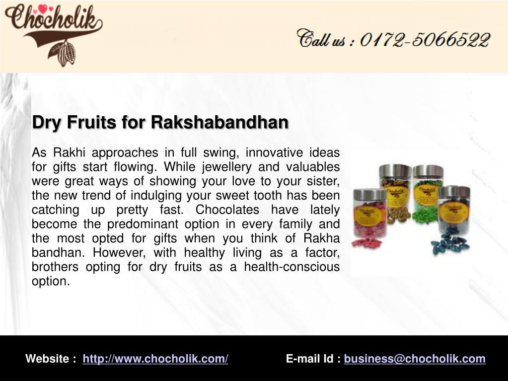 Dry Fruits for Rakshabandhan