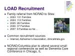 load recruitment
