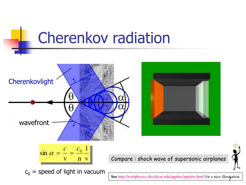 thesis for cherenkov radiations