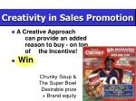 creativity in sales promotion18