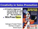 creativity in sales promotion21