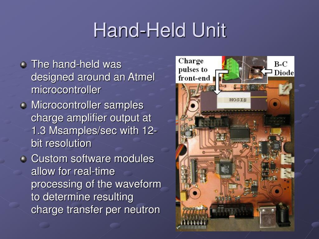 Hand-Held Unit