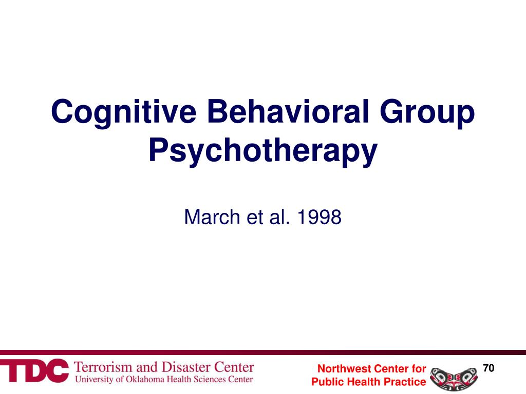 Cognitive Behavioral Group Psychotherapy