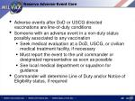 reserve adverse event care