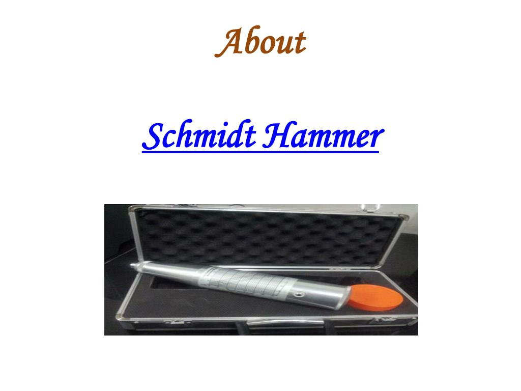 about schmidt hammer l.