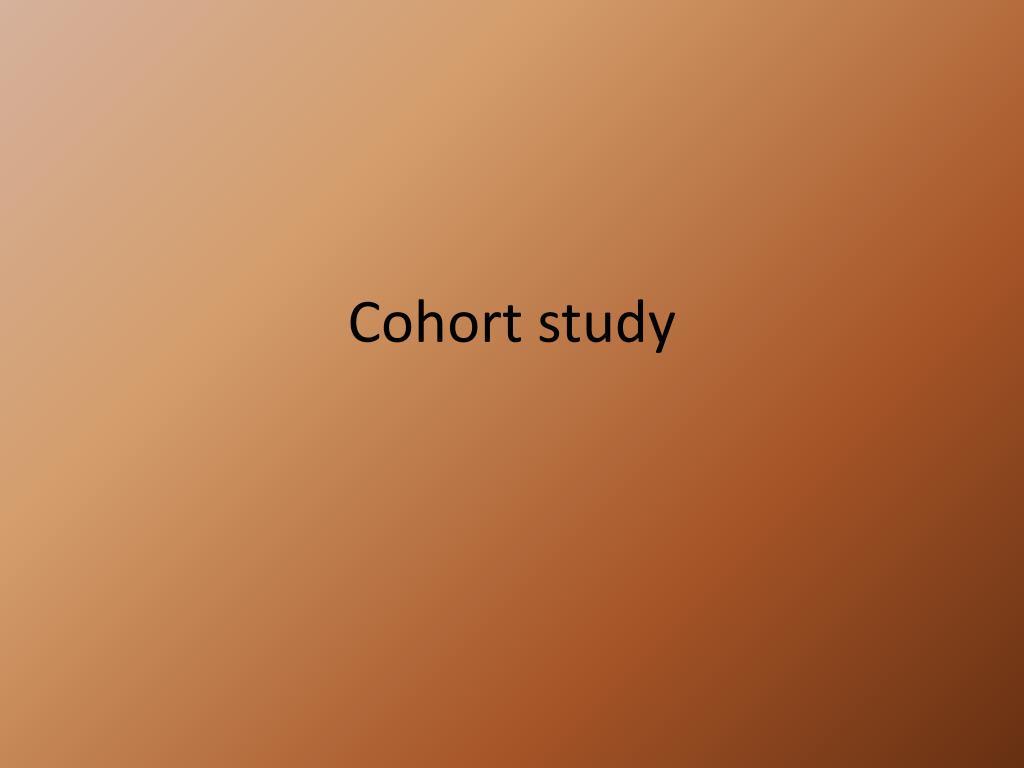 cohort study l.