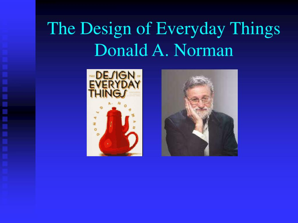 the design of everyday things donald a norman l.