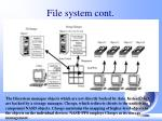 file system cont
