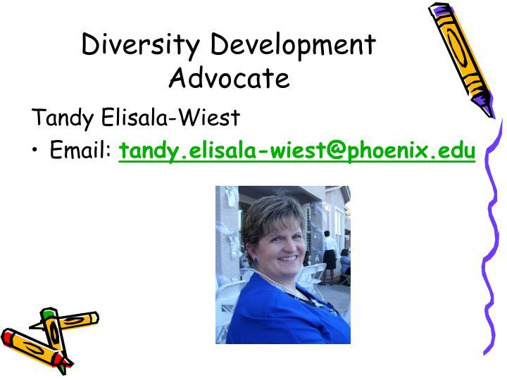Diversity Development Advocate
