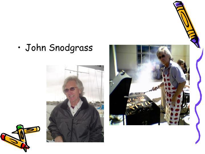 John Snodgrass
