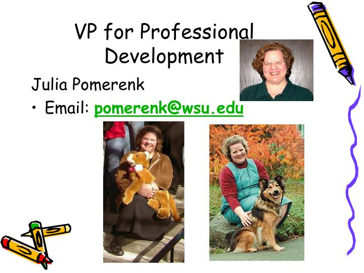 VP for Professional Development