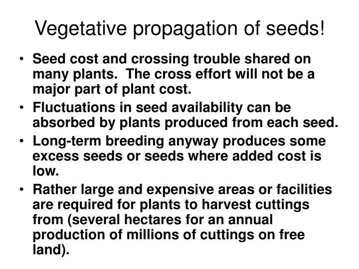 Vegetative propagation of seeds!