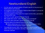 newfoundland english1
