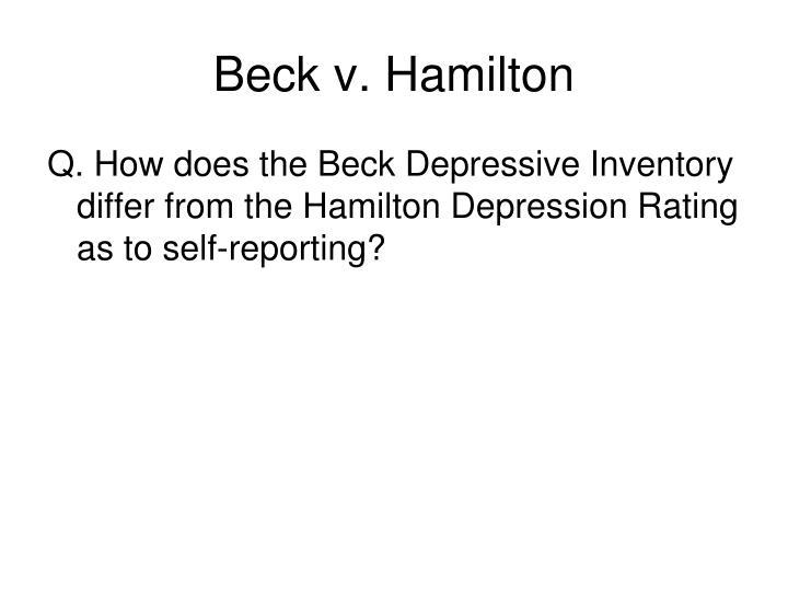 Beck v. Hamilton