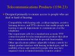telecommunications products 1194 23