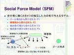 social force model sfm1