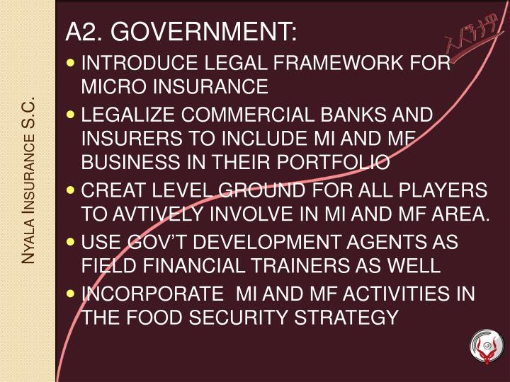 A2. GOVERNMENT: