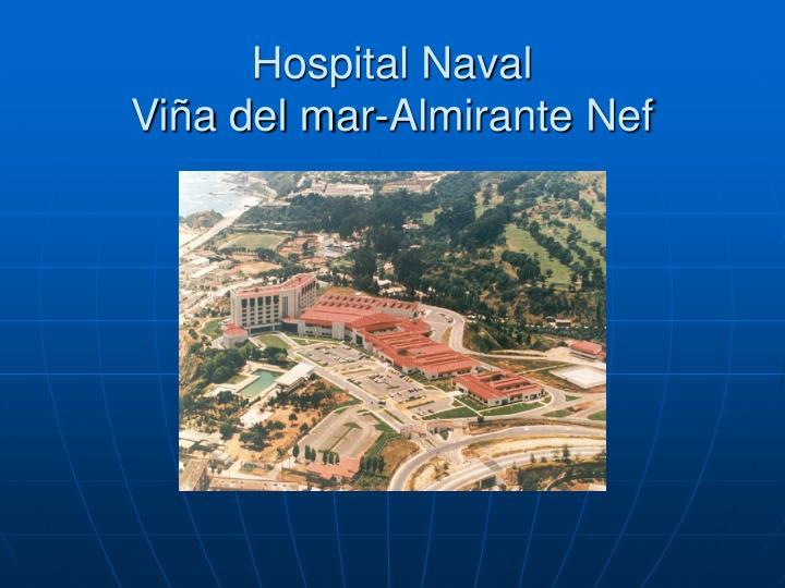hospital naval vi a del mar almirante nef n.