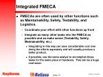 integrated fmeca