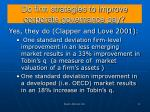 do firm strategies to improve corporate governance pay
