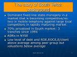 the story of south telco background