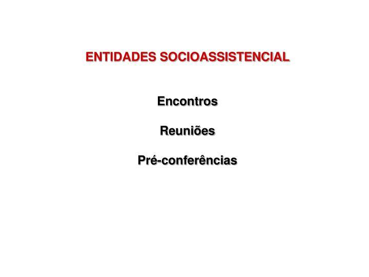 ENTIDADES SOCIOASSISTENCIAL