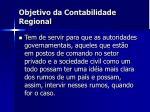 objetivo da contabilidade regional1