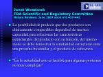 janet woodcock fda scientific and regulatory committee nature reviews june 2007 vol 6 n 6 437 442