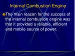 internal combustion engine4