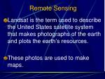 remote sensing1