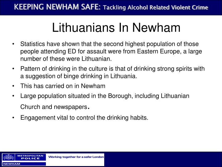Lithuanians In Newham
