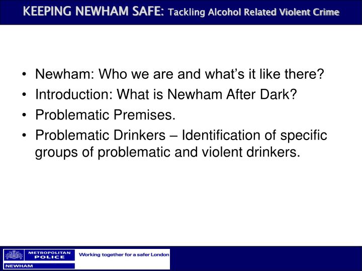 Newham: Who we are and what's it like there?