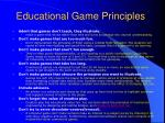 educational game principles1